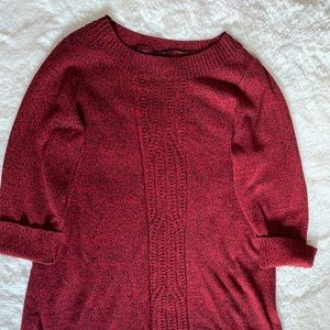 Red Sweater or Sweater Dress